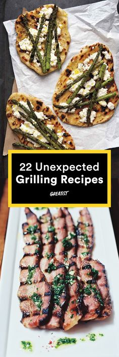 Forget hot dogs and hamburgers—these surprising foods are perfect for your barbecue. #healthy #summer #grilling http://greatist.com/health/27-unexpected-foods-grill-summer