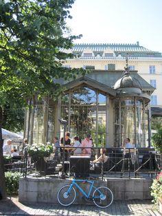 Esplanadi Park pavilion,Helsinki.