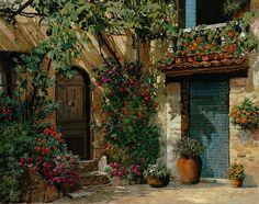 Il giardino Francese - Guido Borelli