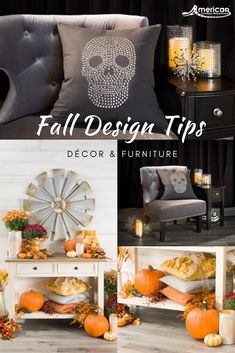 The Vera Accent Chairs from Cambridge Home will add some glam styling to your space. Add a dash of fun pillows to fit your fall theme perfectly. Our pillows come in the perfect size to accent a three cushion couch or even a simple chair without being over Holiday Centerpieces, Table Decorations, Thanksgiving Decorations, Rugs In Living Room, Living Room Decor, Halloween Living Room, Fall Table, Autumn Activities, Fall Diy