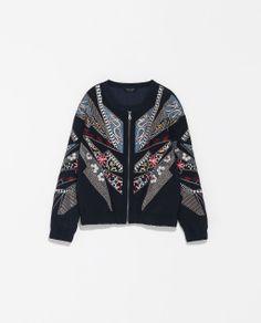 Zara - Geborduurd vest special edition