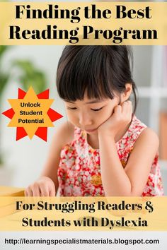 If you are helping a struggling reader and you are looking for a reading program, it can be an overwhelming process to sift through the multitude of options that are currently available. Here is a nice free summary of options.