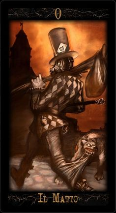 Dieselpunk Tarot: The Fool