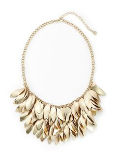 On ideeli: LYDELL NYC Multi Tier Drop Leaves Necklace