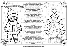 Chanson Petit Papa Noël illustrée