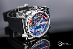 Water printing Montre ©Manufacture Royale