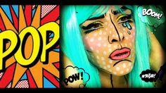 Pop Art - Comic Book Makeup Tutorial | ElissavetB