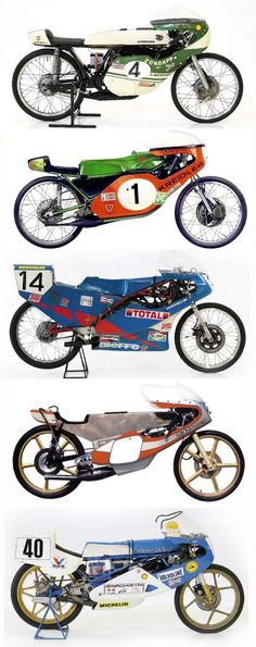 """A beautiful parade of """"mosquitos"""": from zündapp of 1968 to the kreidler, from kreidler, the ringhini of 1976 and the Bultaco Cafe Racer Motorcycle, Racing Motorcycles, Vintage Motorcycles, Custom Moped, Baby Bike, Cafe Racer Bikes, Garage Art, Classic Motors, Mini Bike"""