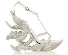 sculpted sandals