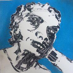 """Face XI"". 224x24 cm. Copenhagen 2015."