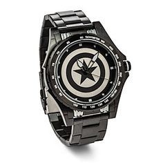Captain America defends all that is good in the US. And in order to do that, he just has to know what time it is. He trusts this watch and so should you. Plus, it's colors make it the perfect watch for stealth missions.