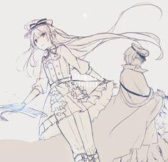 Ji Song, Tsukiuta The Animation, Digital Art, Anime, Pixiv, Boys, Girls, Baby Boys, Toddler Girls