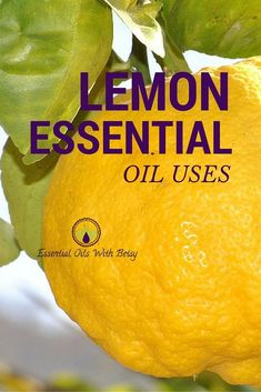 LEMON ESSENTIAL OIL USES: Toddlers are famous for creating epic messes. Writing on the walls, stickers on furniture that leave gummy residue and all the baby stains on clothing. Lemon essential oil is the answer for all of these!