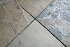 When properly installed by the experts at USi Stone & Tile, slate provides one of the most durable and dependable flooring options in the Calgary area. Flooring Options, Stone Tiles, Slate, Tile Floor, Beach, Crafts, Decor, Floors Of Stone, Chalk Board