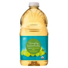 Simply Balanced Organic White Grape Juice 64 oz