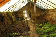 Construire une serre souterraine pour cultiver toute l'année : mode d'emploi !