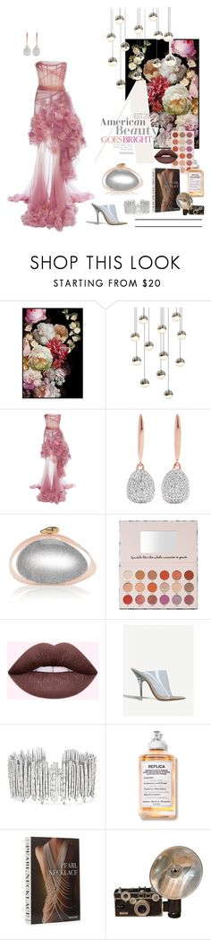 """Go Bright & Bold."" by est29 ❤ liked on Polyvore featuring Sonneman, Marchesa, Monica Vinader, Yeezy by Kanye West, Suzanne Kalan, Celestine and Assouline Publishing"