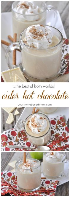 Cider Hot Chocolate