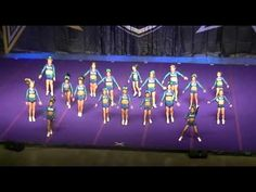 Jersey All Stars Crystals - Junior Level 1 - 2nd Place - Coastal Cheer & Dance Masters - YouTube