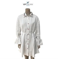 A dress or an elegant shirt 👗👔? It's up to you… 👍🏻 Let your imagination shine! Visit our e-shop: Italian Fashion, Vip, Imagination, Shirt Dress, Elegant, Clothing, Shirts, Shopping, Dresses
