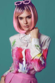 Love this hair colouring