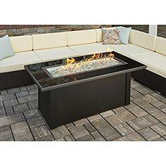Outdoor GreatRoom Company Monte Carlo Fire Table Fire Table, Fire Pit Coffee  Table, Propane