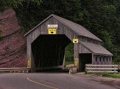 covered bridges of NB