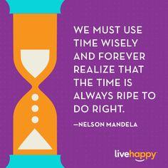 Live Happy Quotes | Nelson Mandela