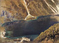 Leon Jan Wyczolkowski (1852-1936) - Sea Eye of the Black Lake