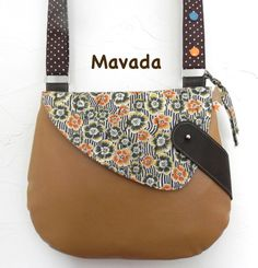 - The little hut of Mavada Satchel, Crossbody Bag, Tote Bag, My Bags, Purses And Bags, Fabric Bags, Leather Jewelry, Shopping Bag, Pouch