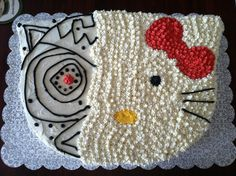 Terminator Hello Kitty Cake