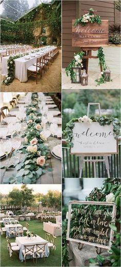 garden themed outdoor wedding ideas #gardenwedding #weddingdecor #weddingideas #weddinginspiration