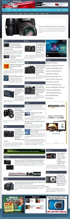 Point Cameras + news  READY MADE WEBSITE FOR SALE! Double automation for this turnkey website about highly profitable point cameras. Includes Amazon store. Perfect for beginners, entirely on autopilot with WPRobot. Also included a powerful news and articles aggregator re: digital cameras niche. No maintenance necessary Make money with Amazon affiliate program selling p cameras and photography and with advertisement such as AdSense and ClickBank.