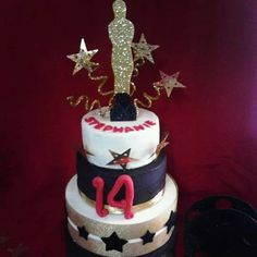 Oscars Cake Oscar Party Decor Pinterest And