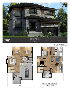 Building A House Quotes Design Product Modern House Floor Plans, Sims House Plans, House Layout Plans, Family House Plans, Dream House Plans, Architect Design House, Architectural Design House Plans, Duplex House Design, Modern House Design