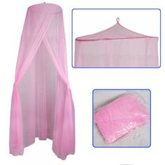 Pin it :-) Follow us :-))  zBabyBaby.com is your Baby Gallery ;) CLICK IMAGE TWICE for Pricing and Info :) SEE A LARGER SELECTION of baby crib netting at  http://zbabybaby.com/category/baby-categories/baby-safety/baby-crib-netting/ -  baby, baby shower, baby stuff, baby gear, nursery, crib net, mosquito net -  Baby Mosquito Net Baby Toddler Bed Crib Canopy Netting Pink / Soft and Stretchy Baby Netting-Made of High Quality See-through Mesh Cloth with 25 Holes per Square « zBabyBaby.com