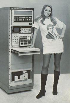 Hewlett-Packard HP-5451A (Fourier Analyzer), 1972