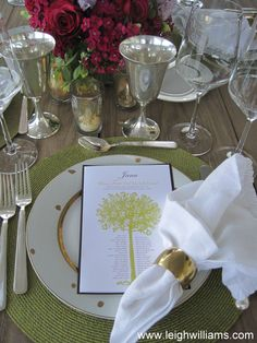 Luxe meets Rustic Ranch Dinner Party Place Settings