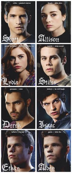 Teen Wolf characters