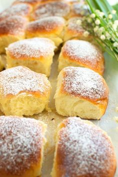 Puszyste bułeczki na jogurcie owocowym Pizza Recipes, Cookie Recipes, Dessert Recipes, Polish Recipes, Bread Rolls, Biscotti, Food And Drink, Favorite Recipes, Brownies