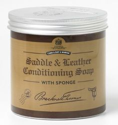 Carr & Day & Martin Horse Brecknell Turner Saddle Soap - 500Ml by JPC. $15.00. Size: 500Ml. A Traditional Soft Wax Formulation To Thoroughly Condition Leather SaddleryFormulated From Blended Soaps For A Softer Application; Glycerine-Free For A Matt Finish And A Softer FeelUse After  Step 1  Belvoir Tack CleanerApplication Apply To Clean Tack And Gently Rub In With A Cloth Or Sponge. When Dry, Polish With A Soft, Dry Cloth. Not Suitable For Aniline Or Untreated Leath...