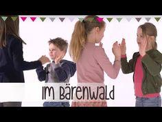 Im Bärenwald   Klatsch-Spiel Anleitung - YouTube