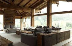 modern chalet interior design