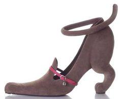 downward dog heels  - puppy shoes