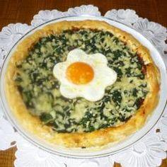 Spinat-Pizza mit Spiegelei im FlavorWave-Oven gebacken und 87.000 weitere Rezepte entdecken auf DasKochrezept.de
