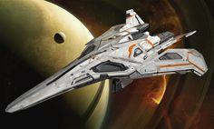 ArtStation - Destiny Jumpships part 2, Isaac Hannaford