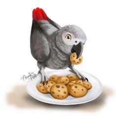 Meet Cookie by Kennienoname.deviantart.com on @DeviantArt