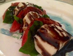 Tomato Caprese with Basil – A Savvy Gal