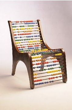 Count on Me Chair by Eva Korae  A chair to count on.