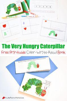 A very hungry caterpillar printable book